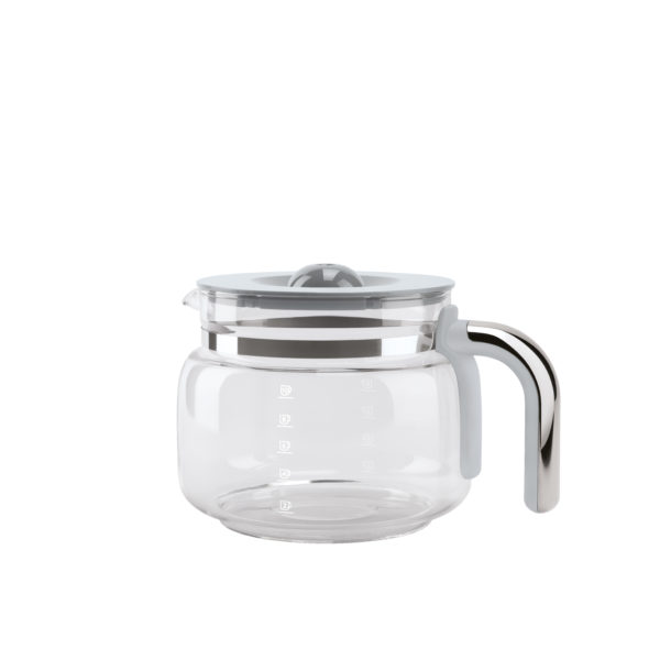 GLASS CARAFE WITH LID FOR DCF02 DRIP COFFEE MACHINES