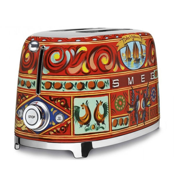 2 Slice Toaster – Smeg Dolce & Gabanna Collection