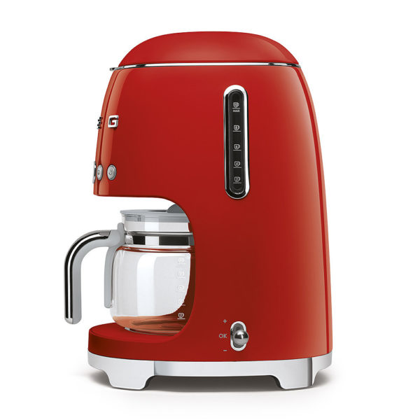 Drip Filter Coffee Machine, Red