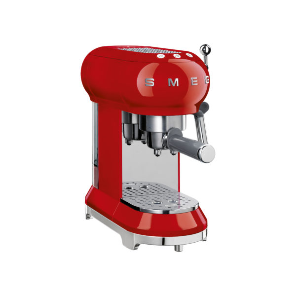 Espresso Machine, Red