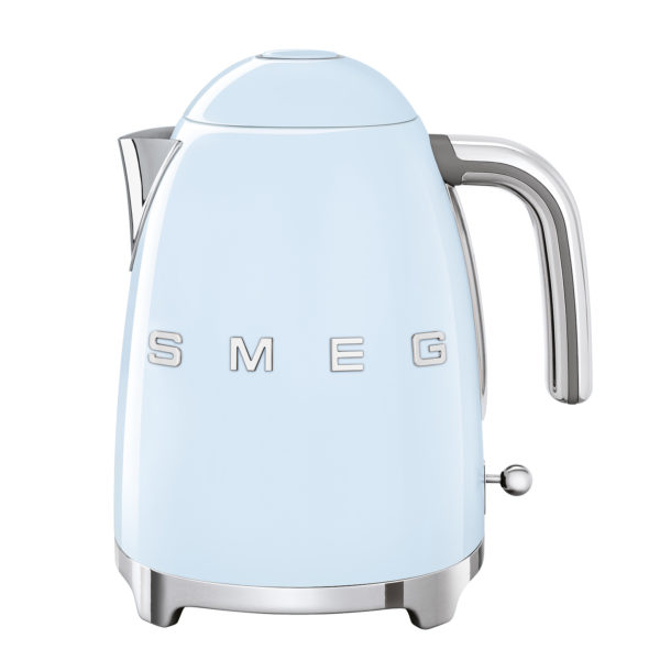Electric Kettle 50'S Style, Pastel Blue