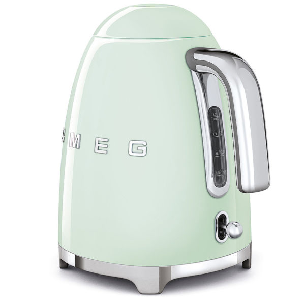 Electric Kettle 50'S Style, Pastel Green