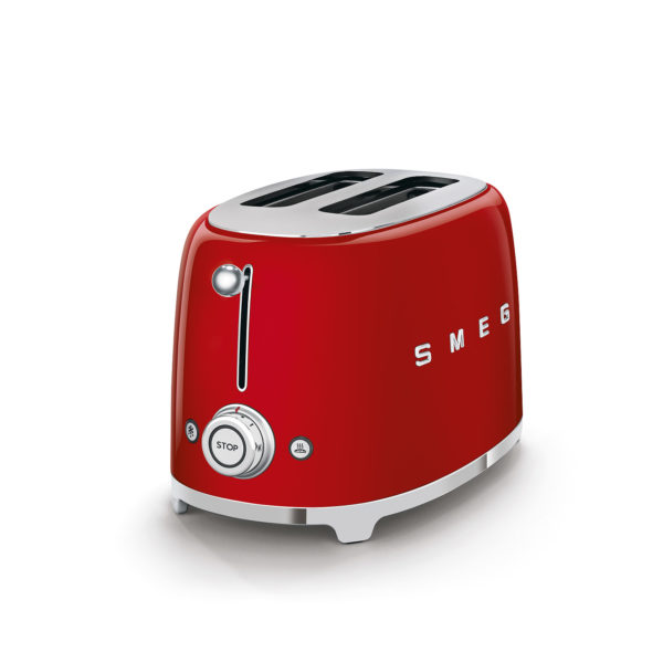 2-Slice Toaster 50's Style, Red
