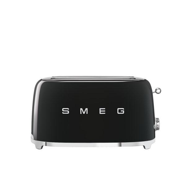 4-Slice Toaster 50's Style, Black