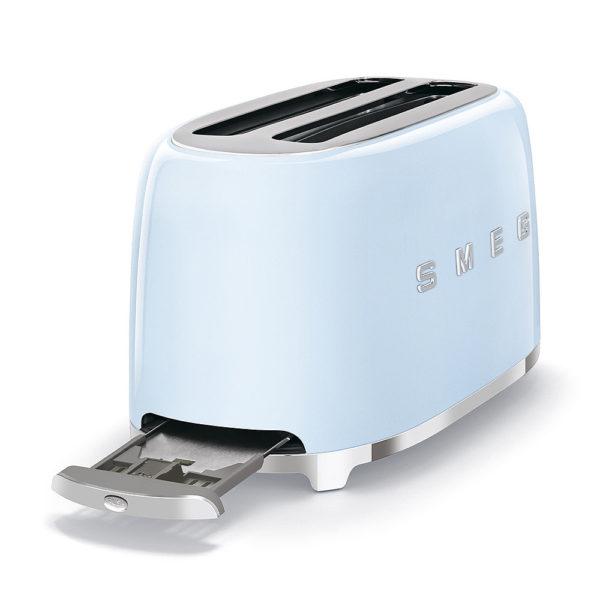 4-Slice Toaster 50's Style, Pastel Blue