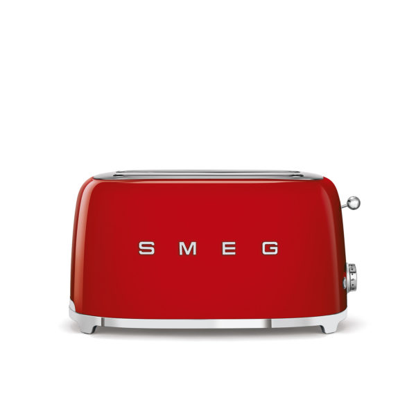 4-Slice Toaster 50's Style, Red