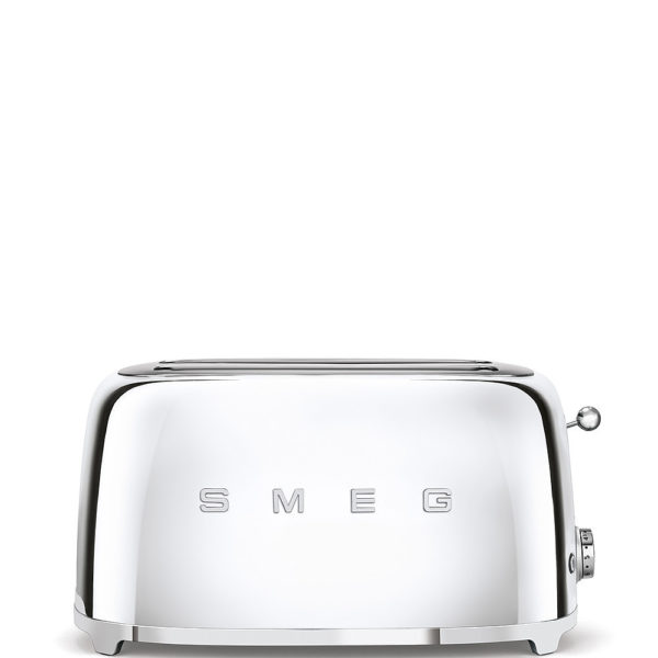 4-Slice Toaster 50's Style, Chrome