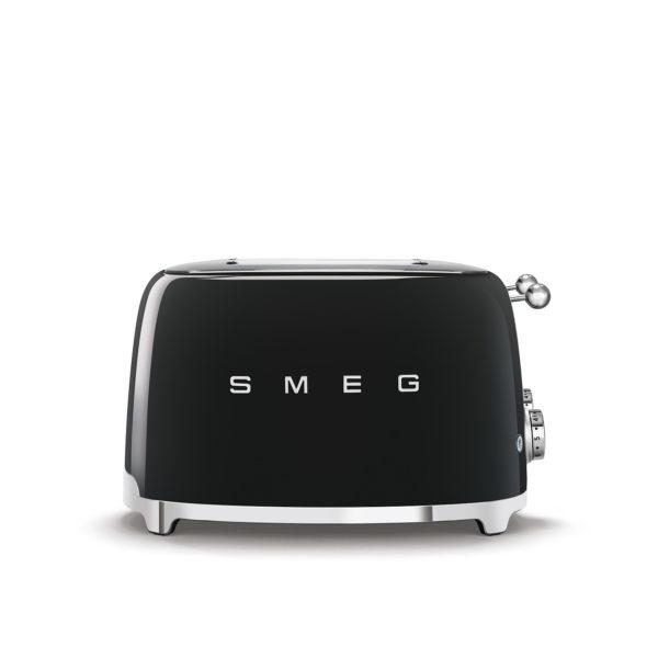 4X4  Slot Toaster 50's Style, Black