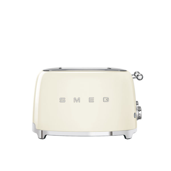 4X4  Slot Toaster 50's Style, Cream