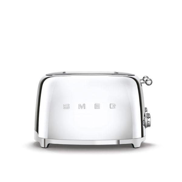 4X4  Slot Toaster 50's Style, Chrome